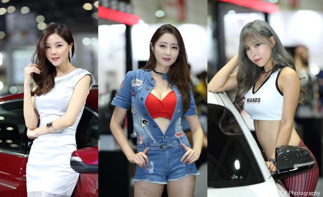 赛车女郎、韩国美女车模、恩斌、EUNBIN、飘在思密达、首尔故事、