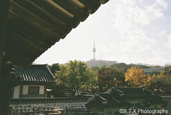 CONTAX G2、南山谷韩屋村