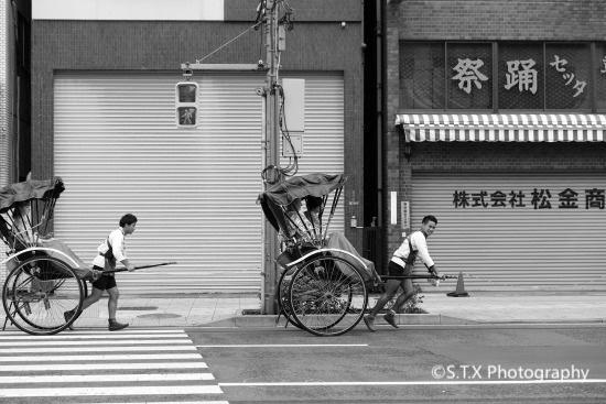 日本东京街拍、浅草寺