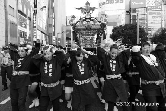 日本东京街拍、新宿