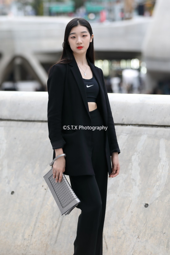 2018秋季韩国时尚街拍