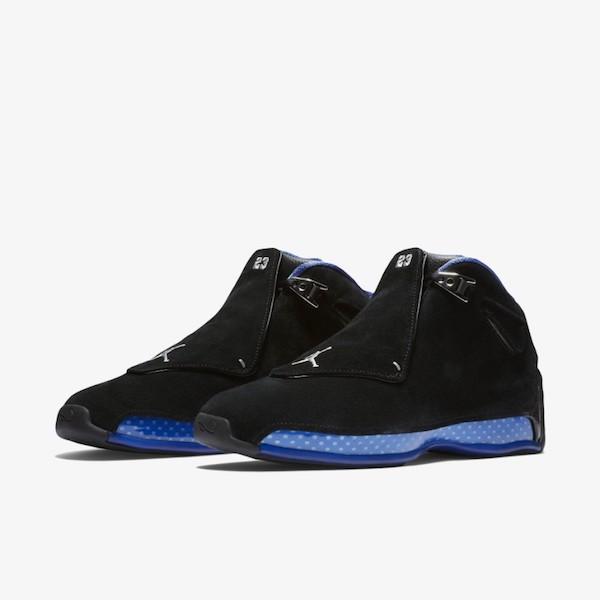 Air Jordan 18 Black Royal