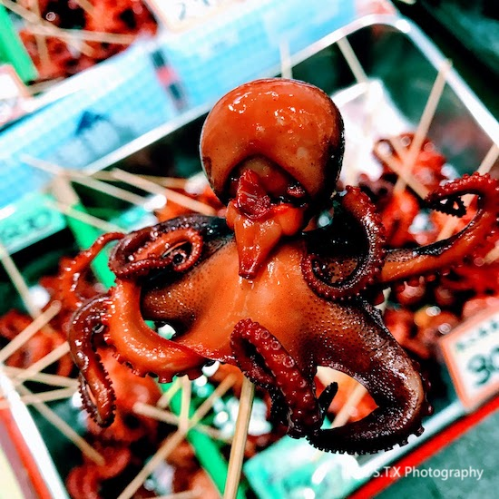 鹌鹑蛋小章鱼