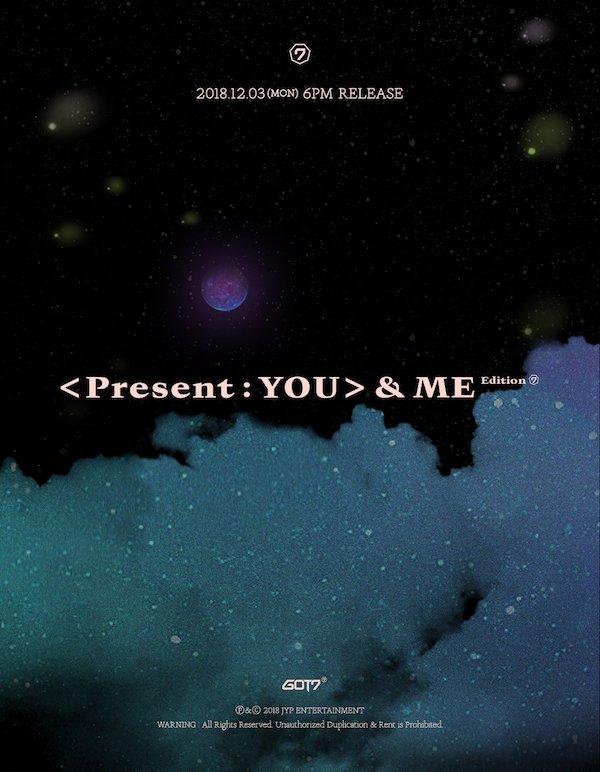 GOT7、<Present : YOU> &ME