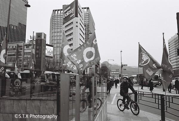 CONTAX G2首尔街拍
