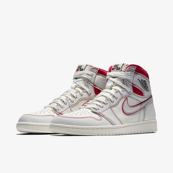 Air Jordan 1 SAIL/UNIVERSITY RED