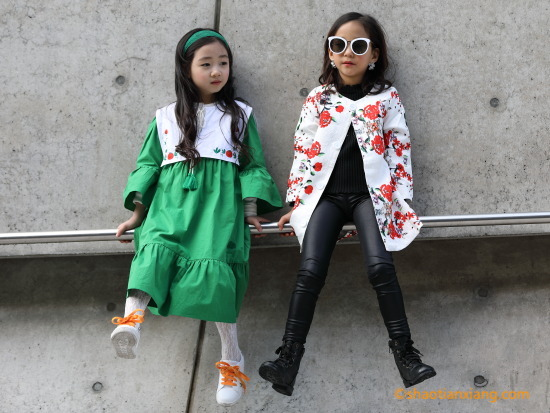 2019F/W 首尔时装周、潮童街拍