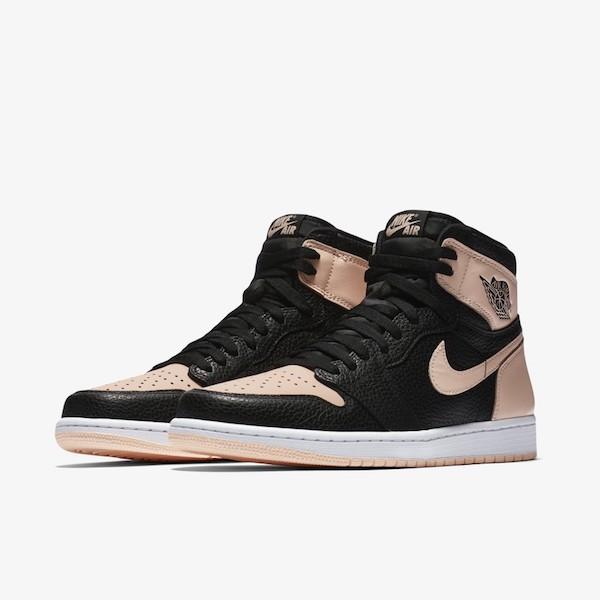 Air Jordan 1 BLACK/PINK