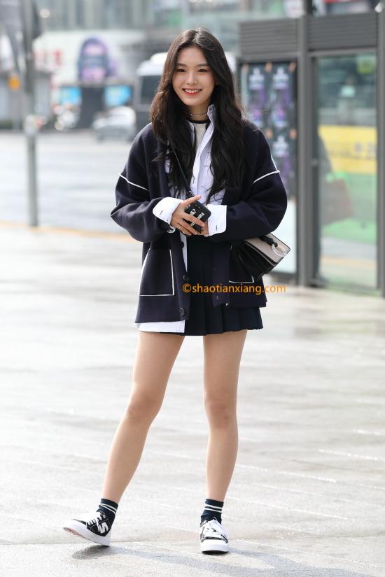 韩国时尚穿搭