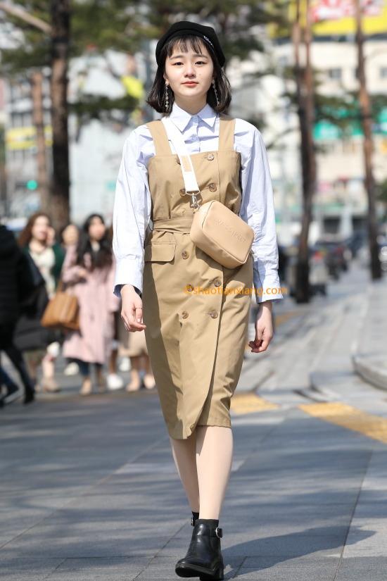 19F/W 首尔时尚街拍