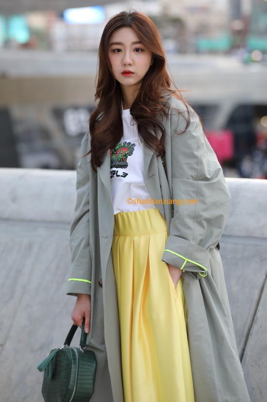 2019韩国时尚街拍