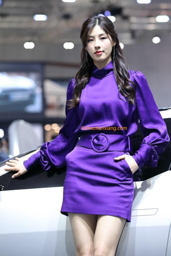 2019首尔国际车展、韩国车模