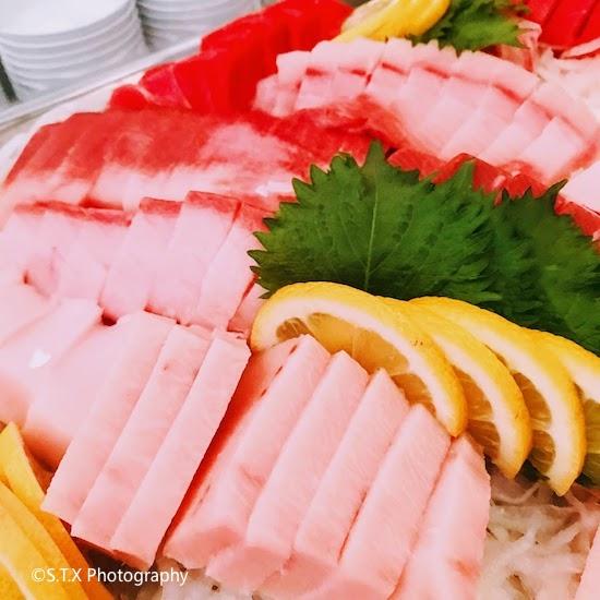 韩国美食、iPhone 7 Plus、三文鱼