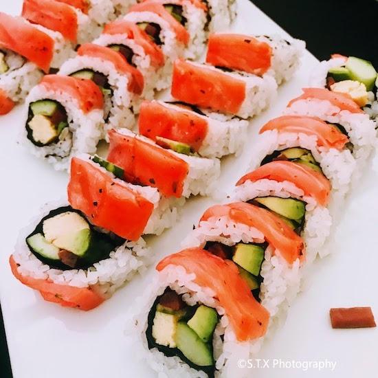 韩国美食、iPhone 7 Plus、寿司
