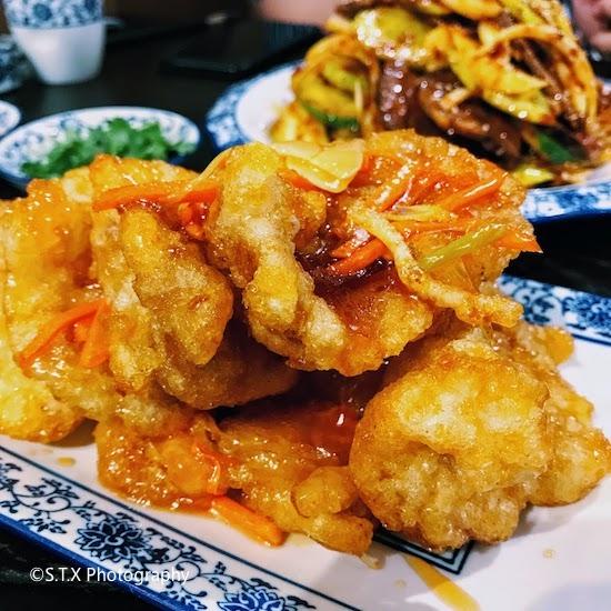 韩国美食、锅包肉