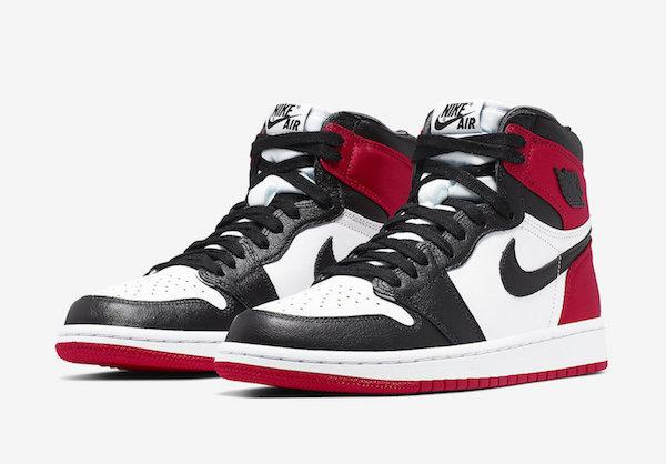 """Air Jordan 1 Satin """"Black Toe"""""""