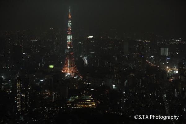 东京塔夜景
