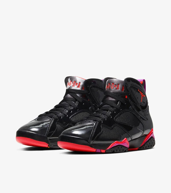 Air Jordan 7 BLACK GLOSS WMNS