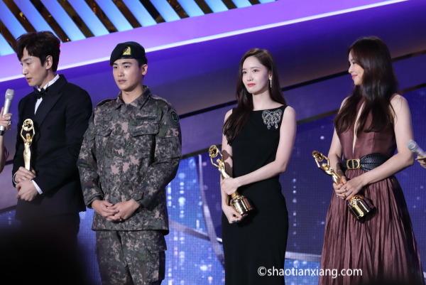 第40届青龙电影奖、李光洙、李荷妮、朴炯植、林允儿