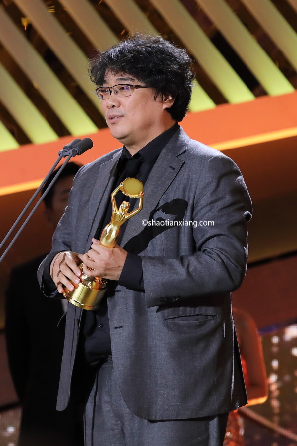 第40届青龙电影奖、奉俊昊就