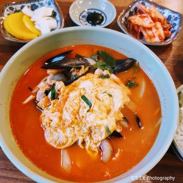 海鲜辣汤饭、韩国美食
