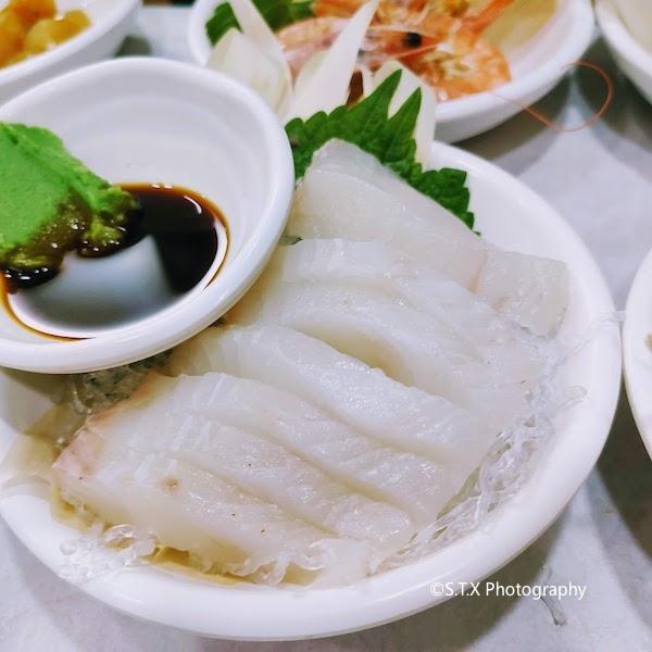 光州一松亭、生鱼片