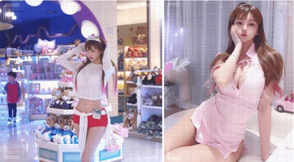 韩国网红、童颜巨乳
