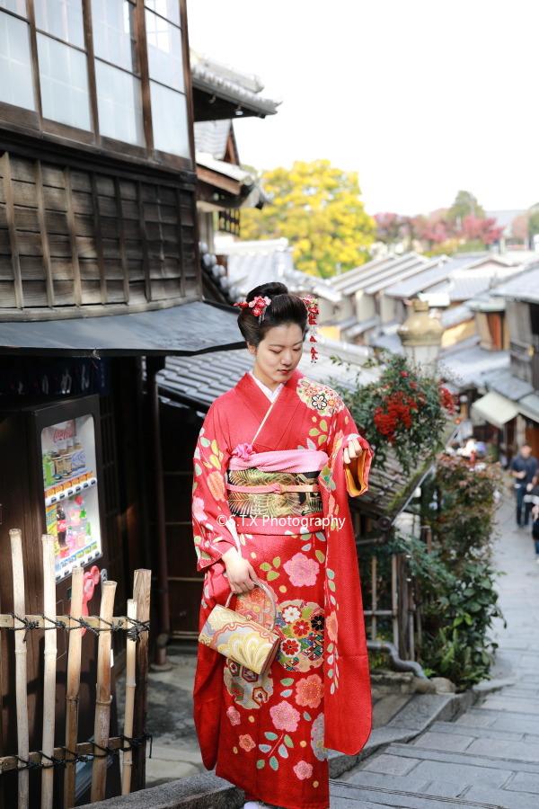 京都和服街拍