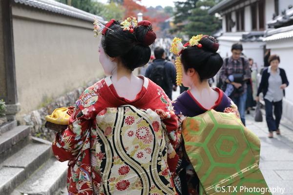 京都艺伎街拍