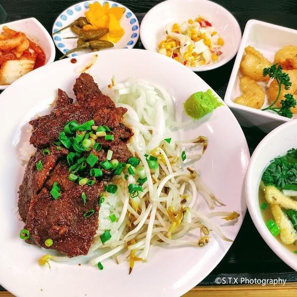 越南炭火烤肉盖饭