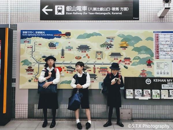 叡山电车、手机摄影、日本街拍、飘在思密达