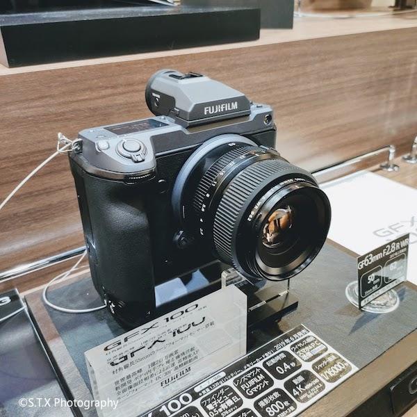 富士相机GFX100