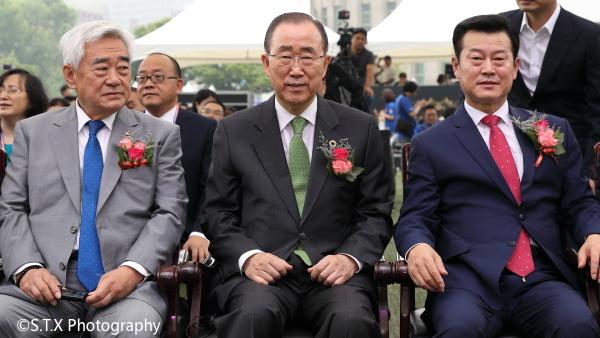 潘基文、2019丝绸之路国际合作首尔论坛