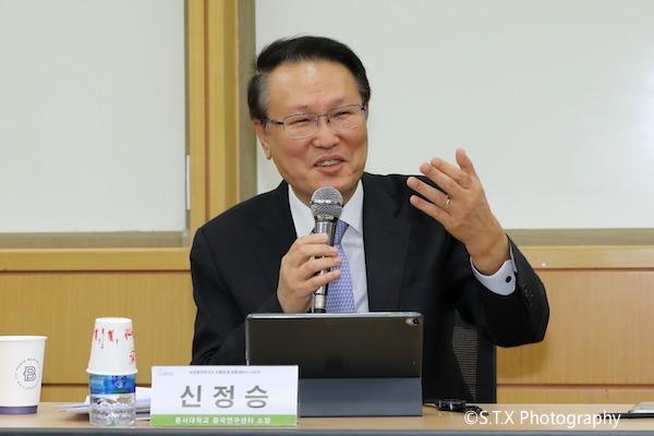 辛正承、韩国驻华大使