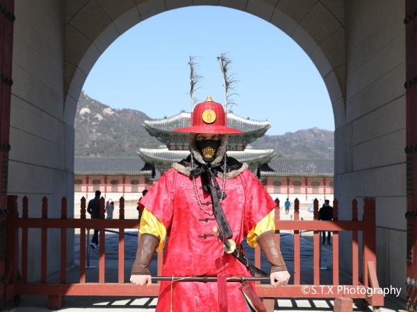 景福宫、守门将