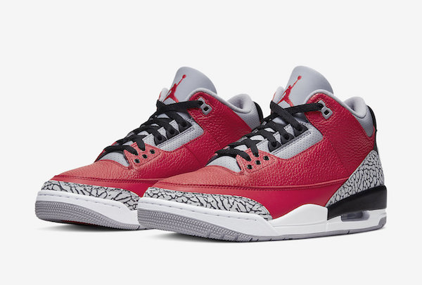 Air Jordan 3 SE Red Cement