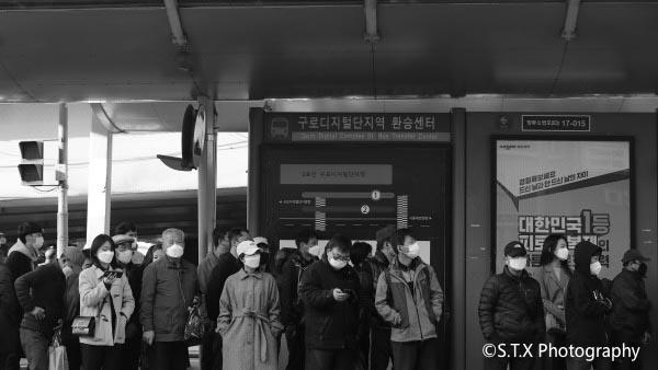 韩国街拍、新冠肺炎疫情