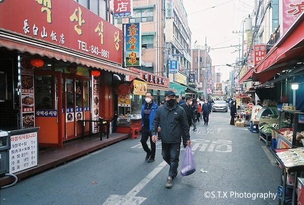 首尔大林洞中国城