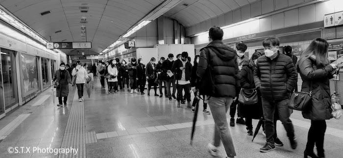 首尔地铁5号线喜鹊山站、韩国新冠肺炎疫情