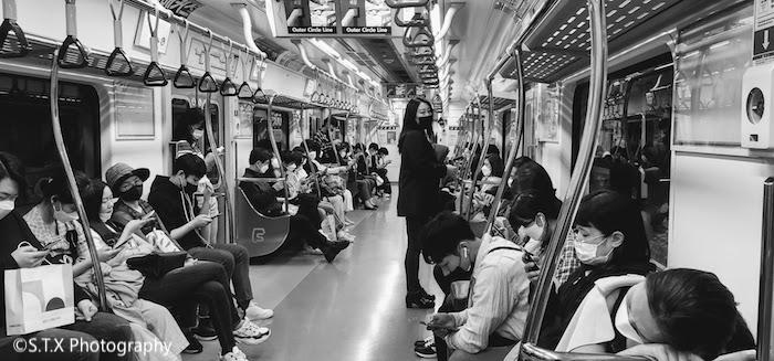 首尔地铁、韩国新冠肺炎疫情