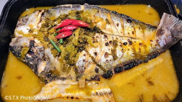 明洞半天妖烤鱼、酸菜鱼