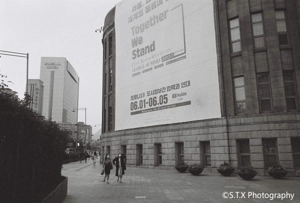 柯达黑白胶卷街拍