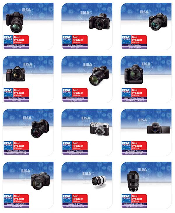 2020-2021年度EISA影像大奖