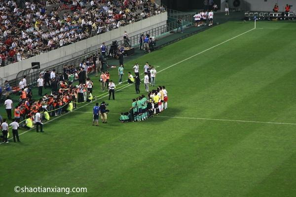 2010年K联赛全明星VS巴塞罗那