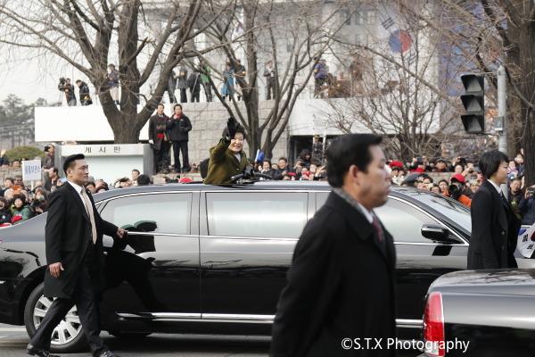 第18届韩国总统就职典礼、朴槿惠