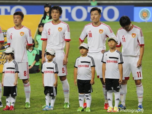 2013年东亚杯男足对阵日本