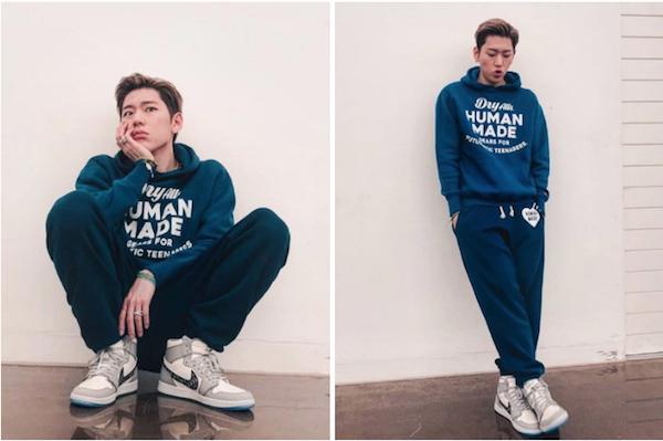 ZICO、Dior x Air Jordan 1