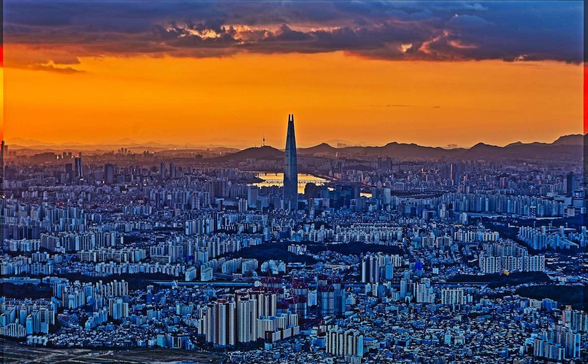 首尔风光、飘在思密达