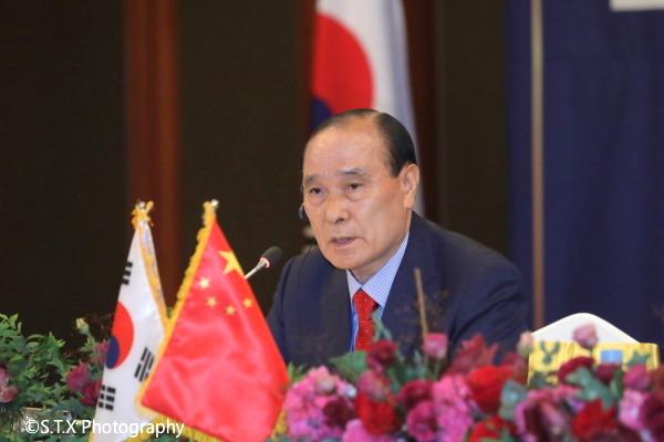 21世纪韩中交流协会会长金汉圭