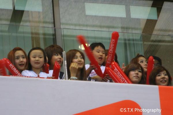 2009曼联 VS FC首尔、少女时代